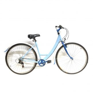 "Apollo Metis Ladies Hybrid 700c 19"" Blue Bicycle - ReSprayed, Rebuilt, Serviced & Ready to Ride"