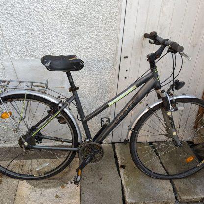 Scott 700c Ladies City Bike Graphite