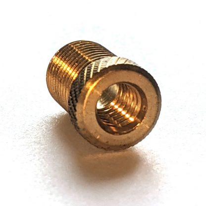Schrader Auto Pump to Presta High Pressure Valve Brass Adaptor