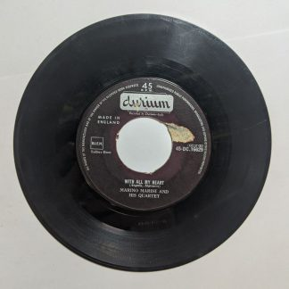 """With All My Heart / The Pansy (7"""", Single) Durium 45-DC.16629 UK"""