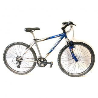 "Trek 820 FS 17.5"" Blue - - For Sale Serviced and Ready to Ride"