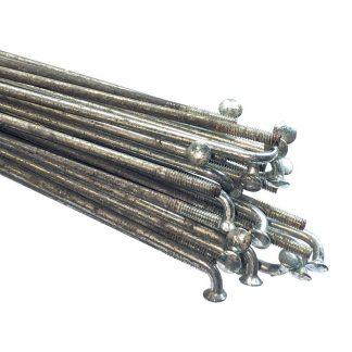 Used 14g Galvanised Steel Plain Gauge Spokes