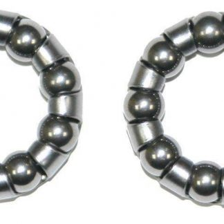"Ball Bearings Caged Retainer 1/4"" x 9 (Pair)"