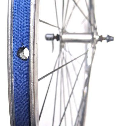 "700c 622 29"" Rigida Chrina Alloy Road Front Wheel Polished Silver QR"