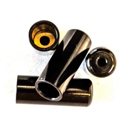 Halt HFA100 Sealed Alloy Ferrules 4mm Black