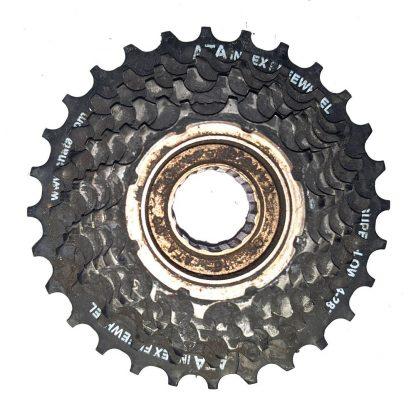 7 Spd Freewheel ATA Index Super-Low 14-28T Screw-On