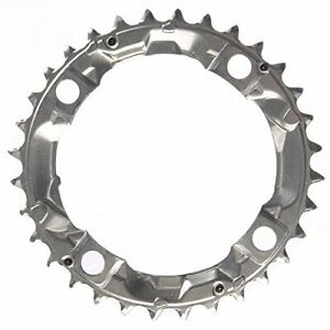 Shimano Alivio FC-M410 104mm BCD 4 Arm Middle Chainring Silver 32T