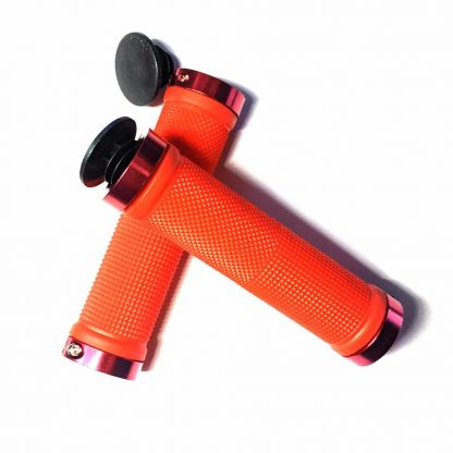Allen Bolt,Alloy Clamp,Black,Blue,Control Gear,Gold,Grips,Handle Grips,Handlebar Grips,Lock Ons,Red,Rubber Grip,