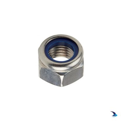 M4 Nyloc Nut A2 Stainless