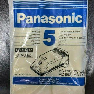 x5 - Panasonic Canister Vacuum Cleaner MC-E69-99 Series Type C-5r Dust Bags
