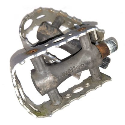 """Wellgo Alloy Cage Flat Pedals 9/16"""" Pair"""