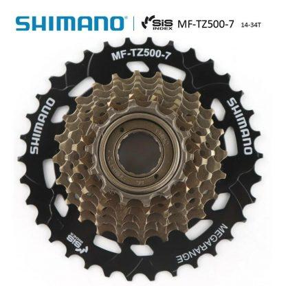 Shimano Freewheel MF-TZ500-7 MegaRange 14-34T